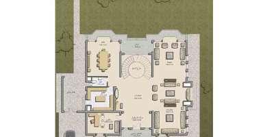 فيلا سكنية 950م للايجار السنوى بالشروق القاهرة