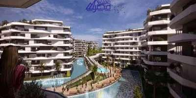شقة سكنية 120م للبيع بالتقسيط بالعاصمة الادارية الجديدة القاهرة
