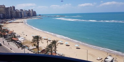 شقة سكنية 170م للايجار اليومى بالمنتزة الإسكندرية