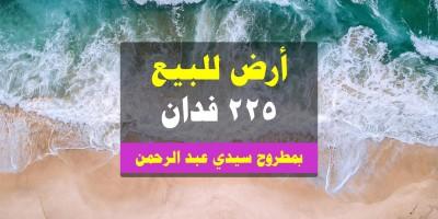 أراضي أخرى 225م للبيع كاش بقسم مرسى مطروح مرسى مطروح
