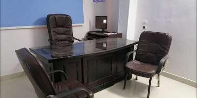 مكتب تجاري 135م للايجار السنوى بشبرا القاهرة