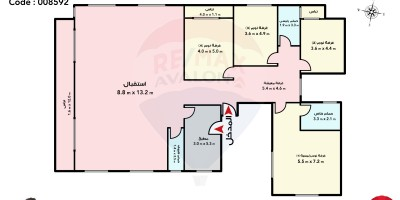 شقة سكنية 235م للبيع كاش بمحرم بك الإسكندرية