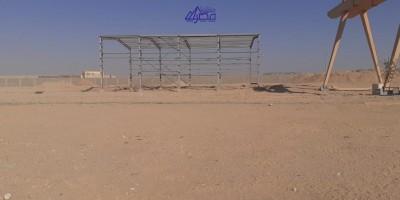 أراضي صناعية 40000م للايجار السنوى بقسم عتاقة السويس