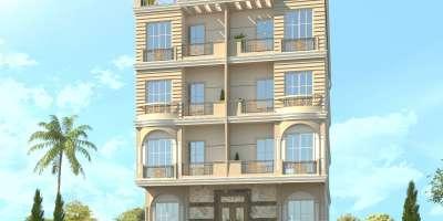 شقة سكنية 144م للبيع بالتقسيط ب6 أكتوبر الجيزة